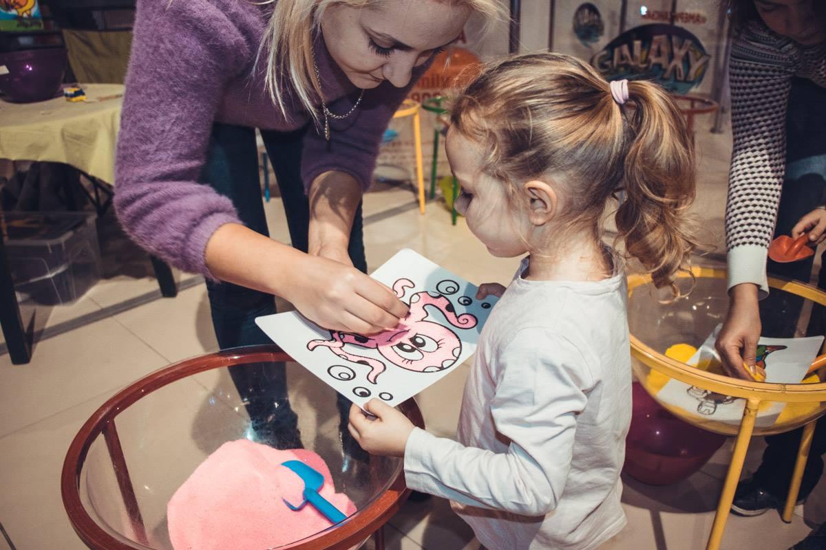 С детьми на фестивале работали аниматоры