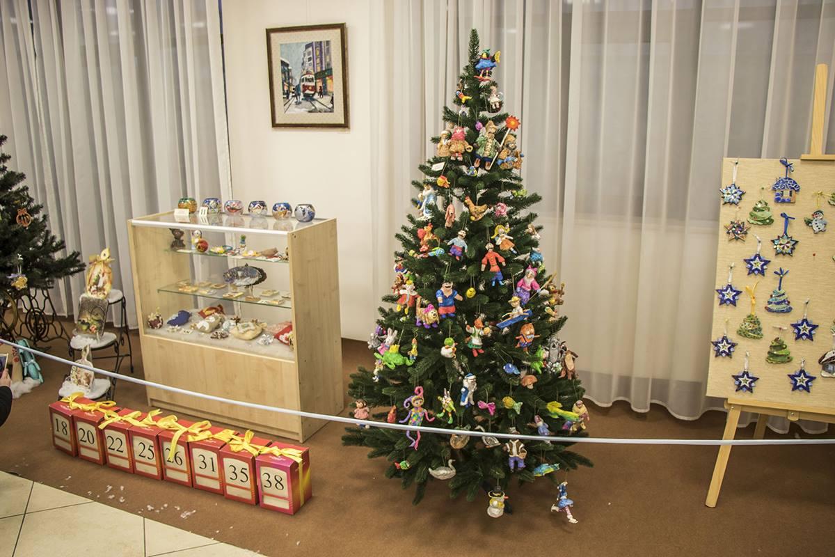 Главное новогоднее украшение выставки