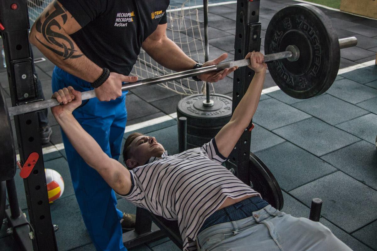 Некоторые предпочли более тяжелые тренировки