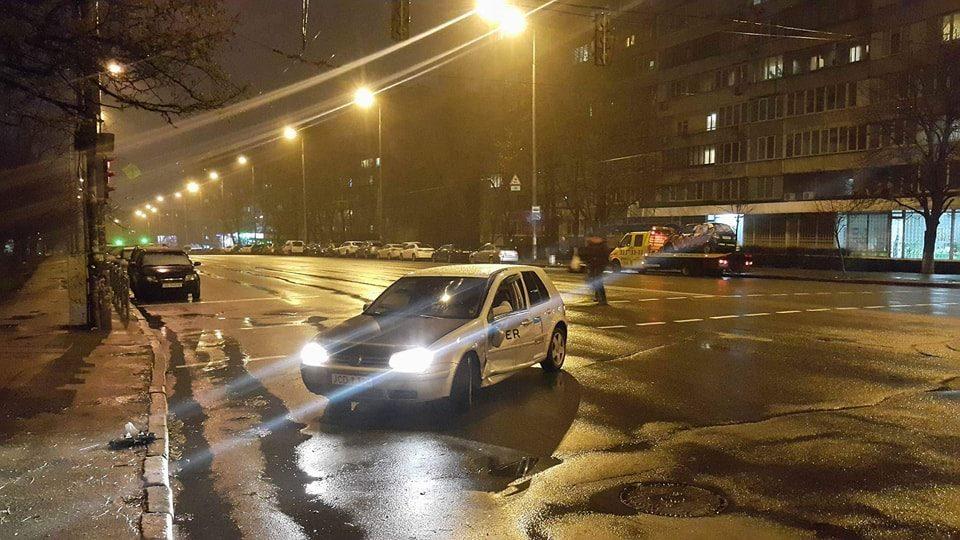 ДТП произошло на пересечении улиц Митрополита Липковского и Кавказской