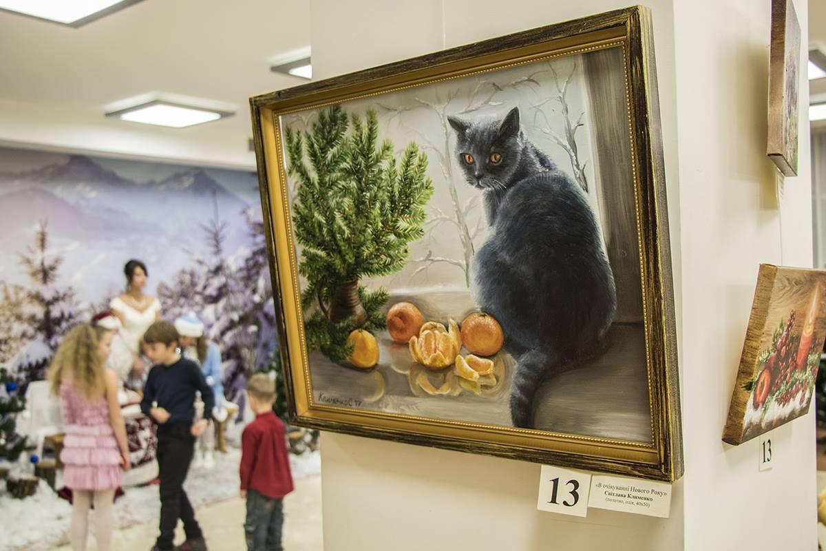Также на выставке можно было приобрести картины