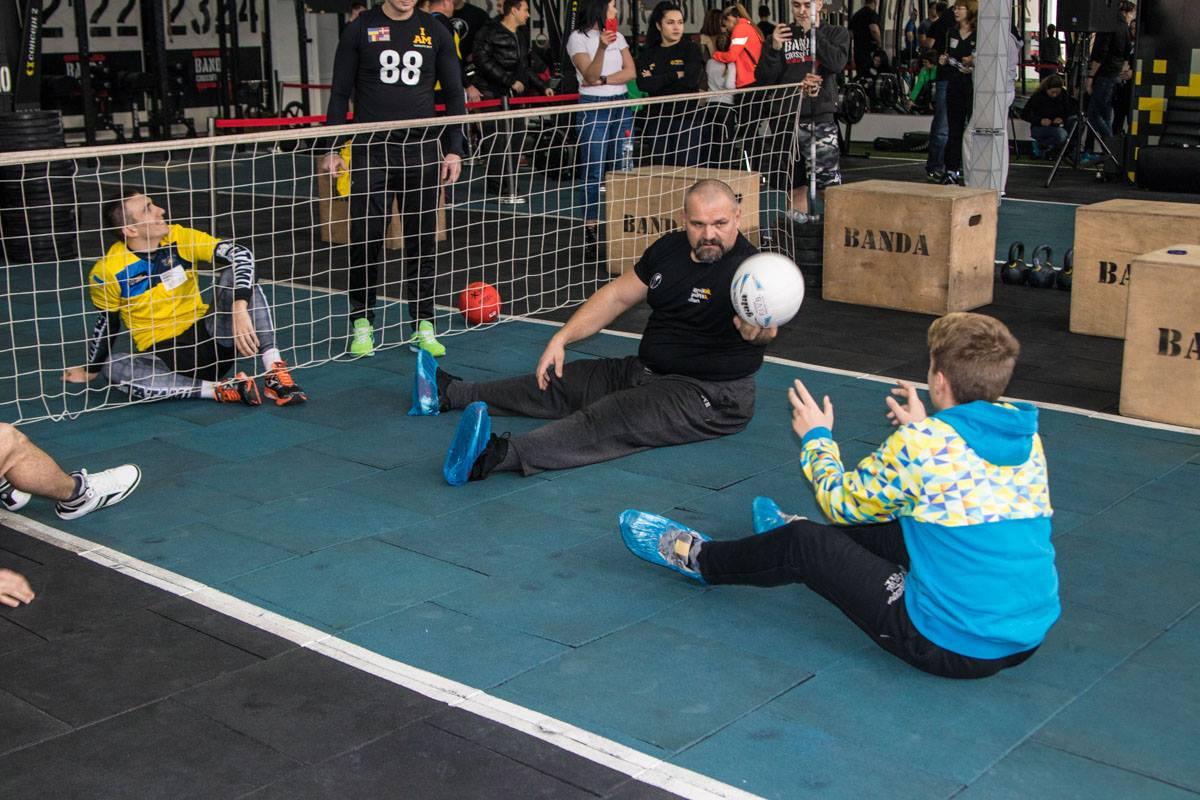 Василий Вирастюк был на соревнованиях с сыном