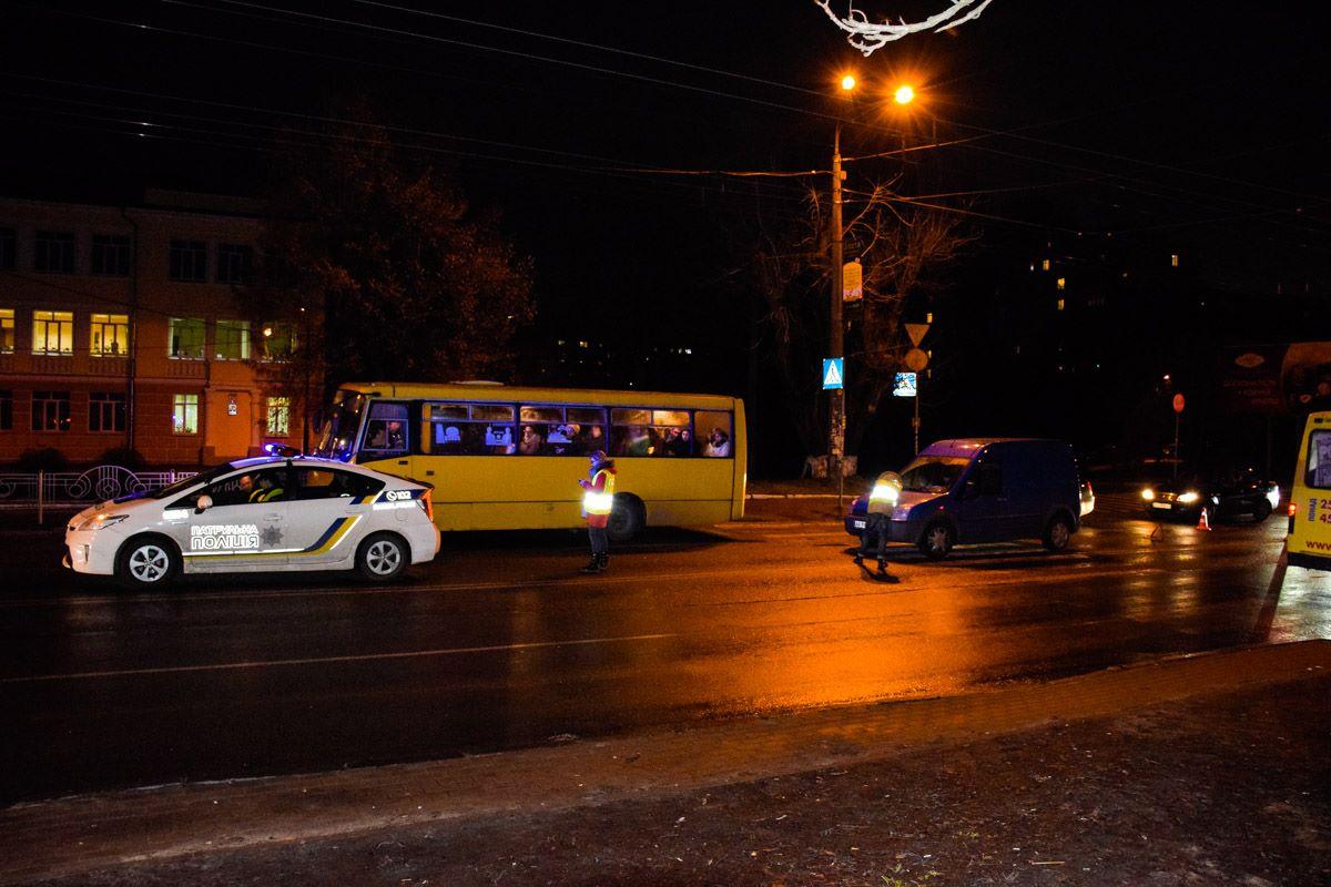 Водитель говорит, другой автомобиль перекрыл видимость перехода