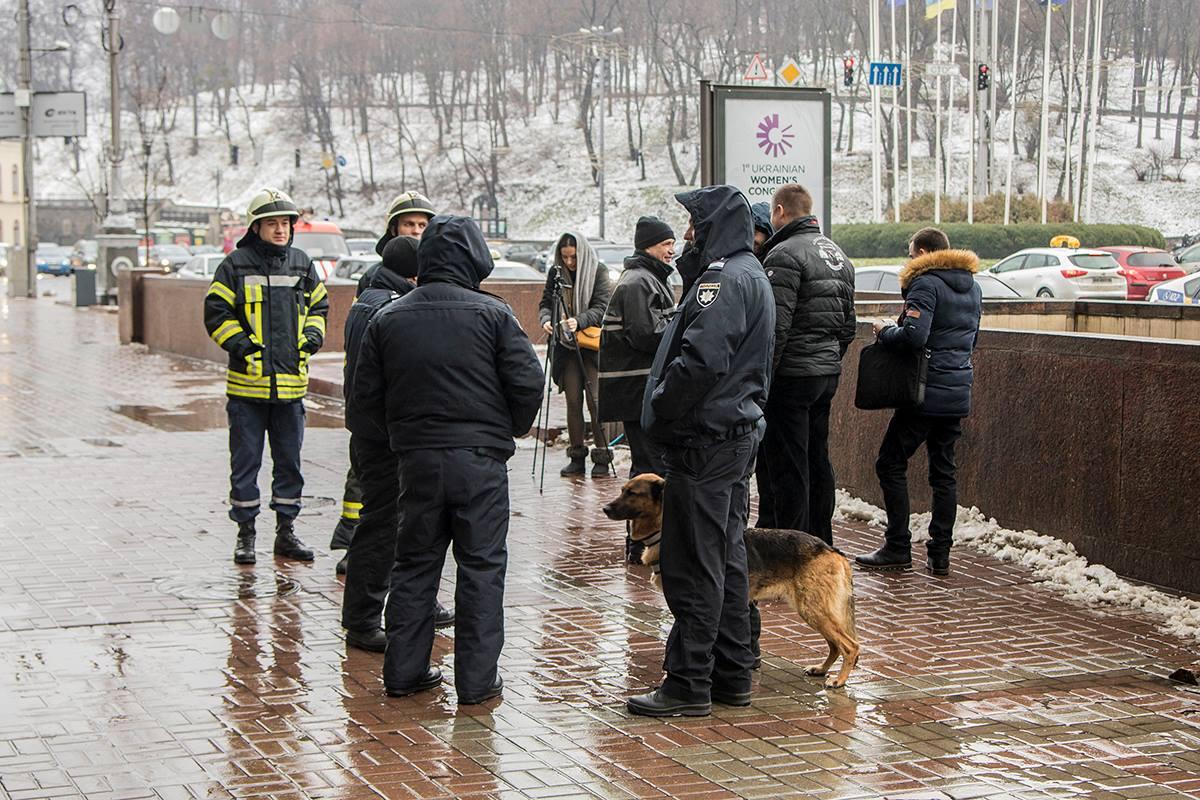 ВКиеве эвакуировали строение агентства УНН из-за сообщения оминировании