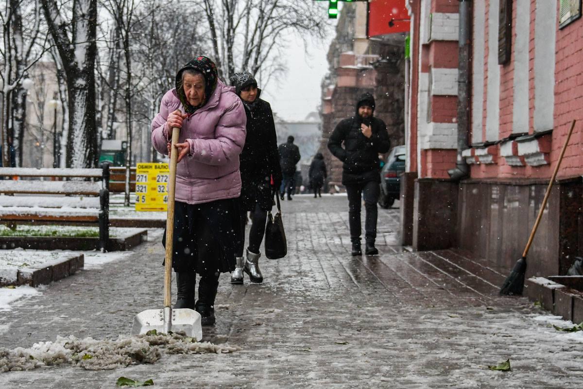 С декабрем в столицу пришла настоящая зима
