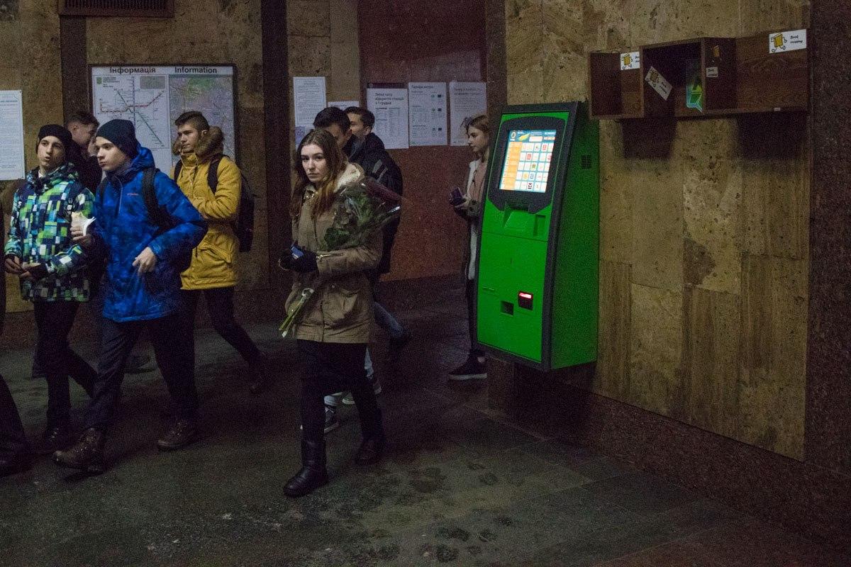 В метро Киева появилось место дляbookcrossing