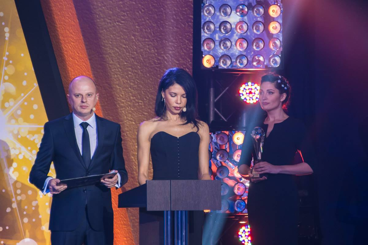 Для Вацко церемония была дебютом в роли ведущего