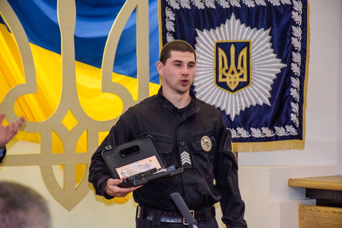 В состав украинской сборной вошли также патрульные полицейские