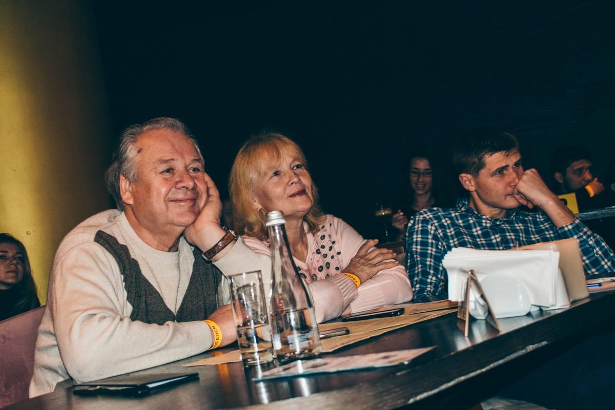 Гости вечера остались очень довольны встречей с любимым ведущим