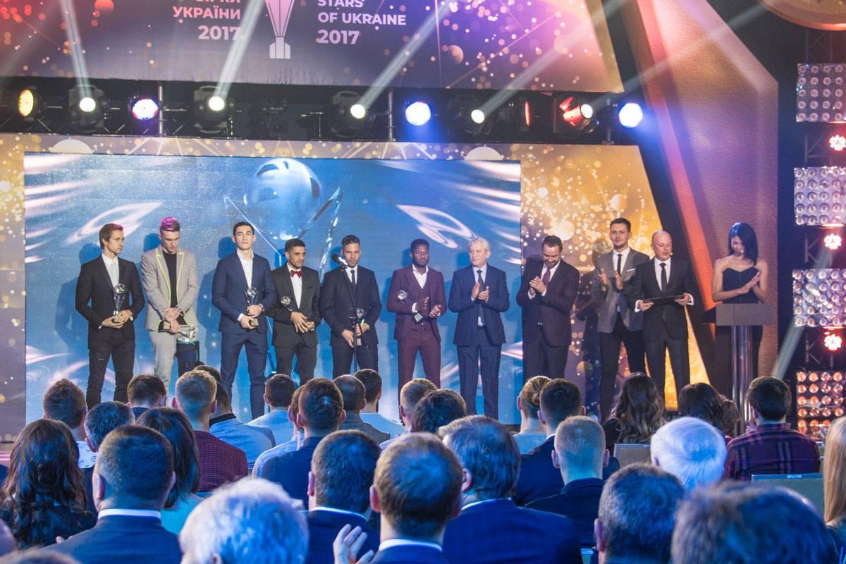 Символическая сборная Украины по футболу 2017