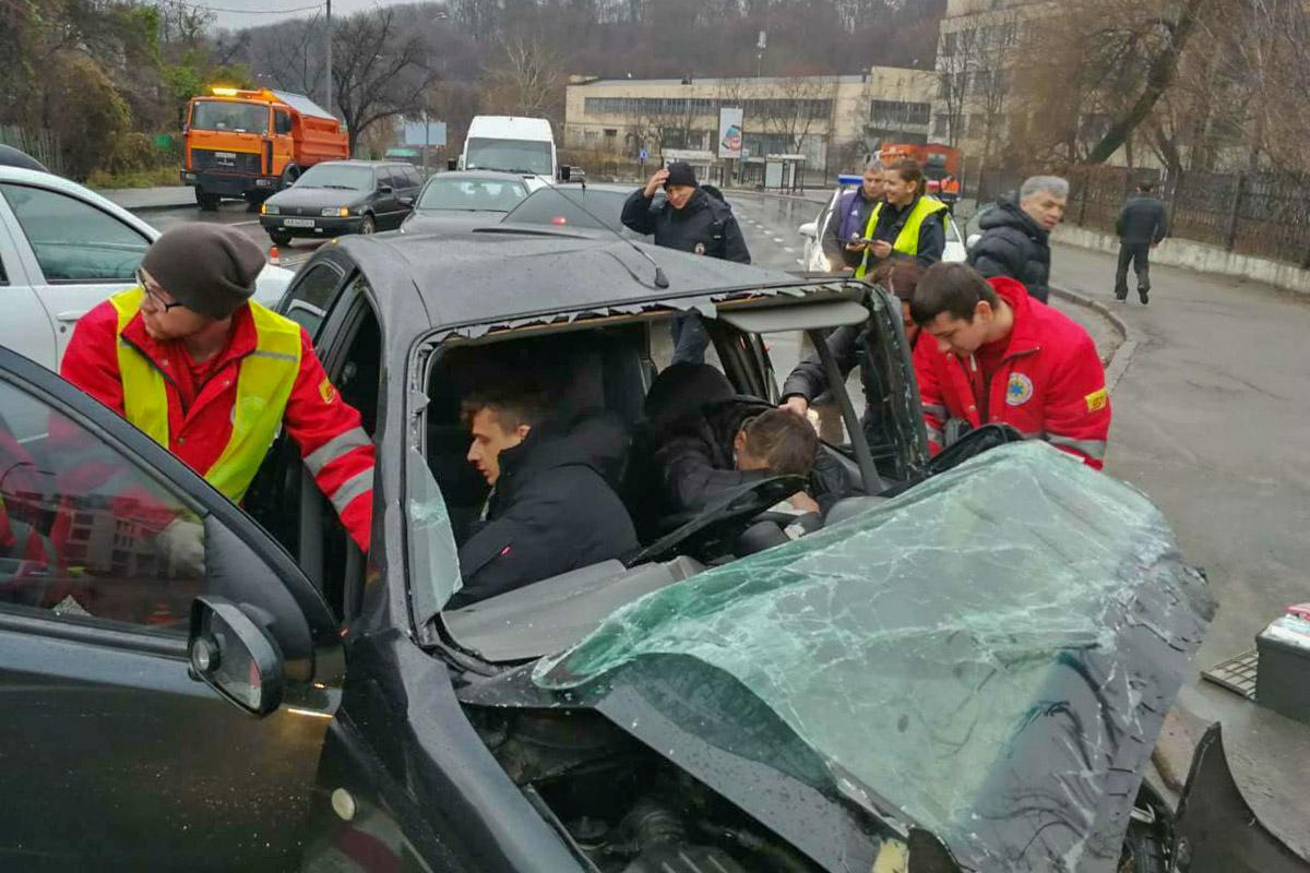 Водитель потерял сознание