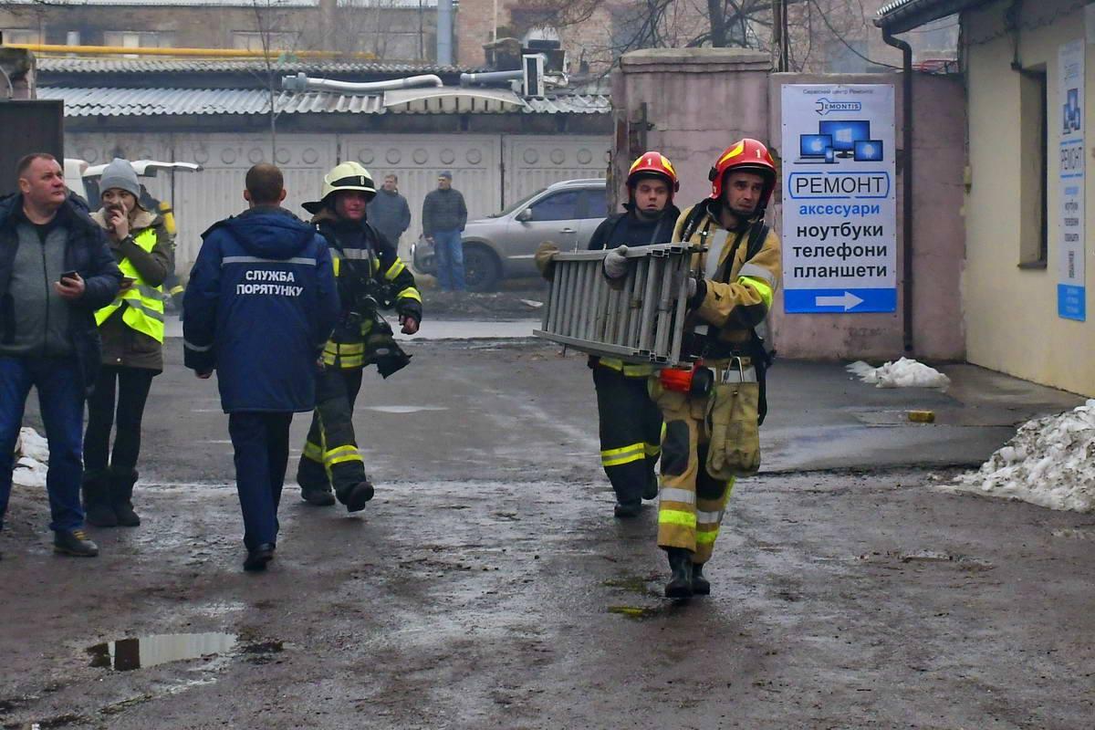 Сотрудники из ближайших офисов были эвакуированы