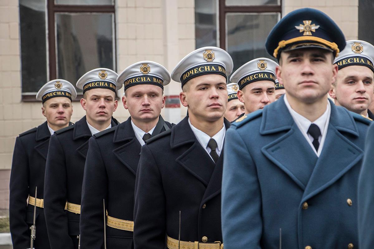 Почетный караул Национальной гвардии Украины