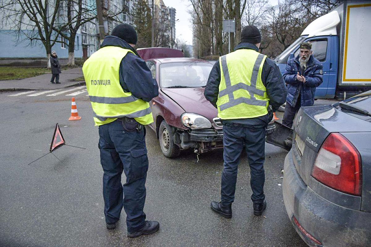 Авария, к счастью, не привела к проблемам для других водителей