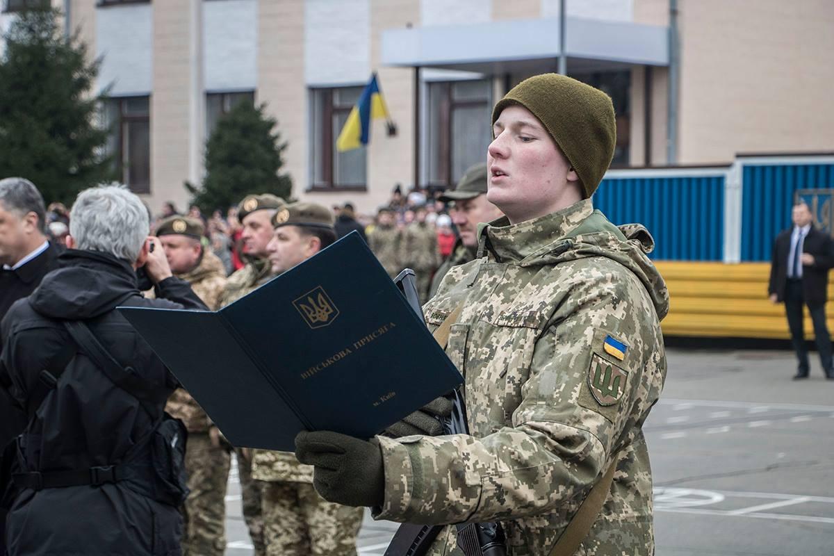 Солдаты полтора года проведут в Отдельном Киевском президентском полку