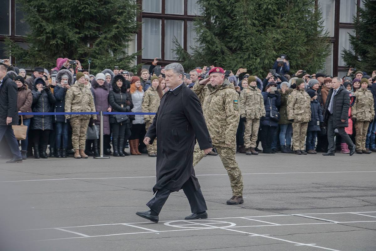 Торжество по случаю присвоения почетного звания воинской части