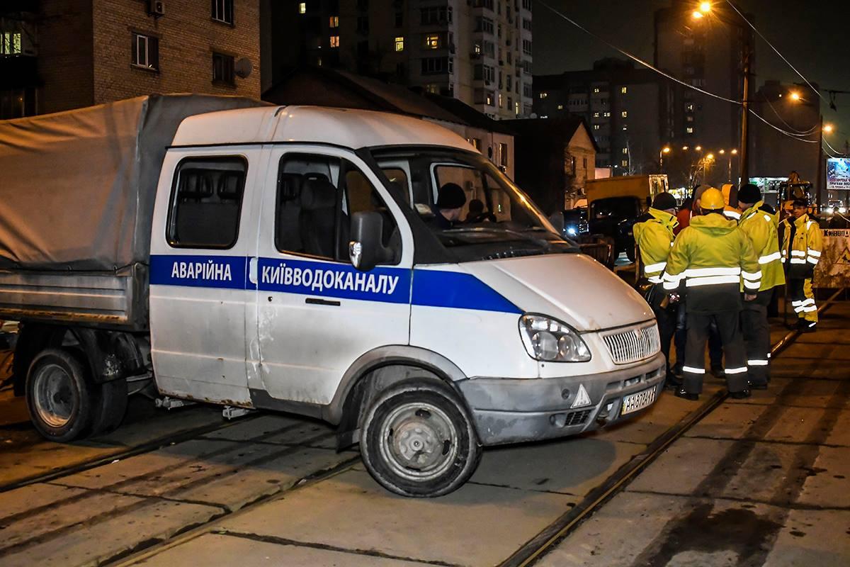 Отвод стоков переключили на Позняковский коллектор