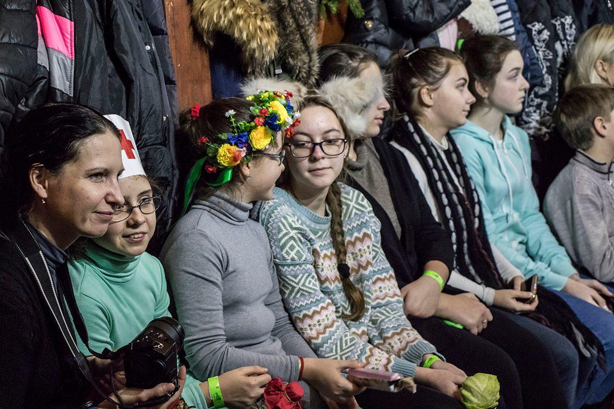 Дети с нетерпением ждали Николая
