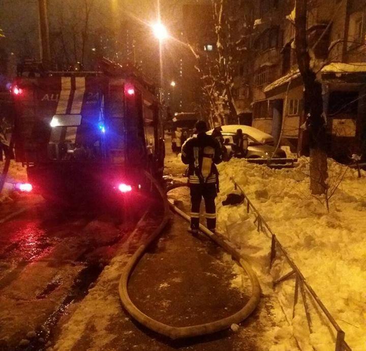 На Здолбуновской улице горела девятиэтажка