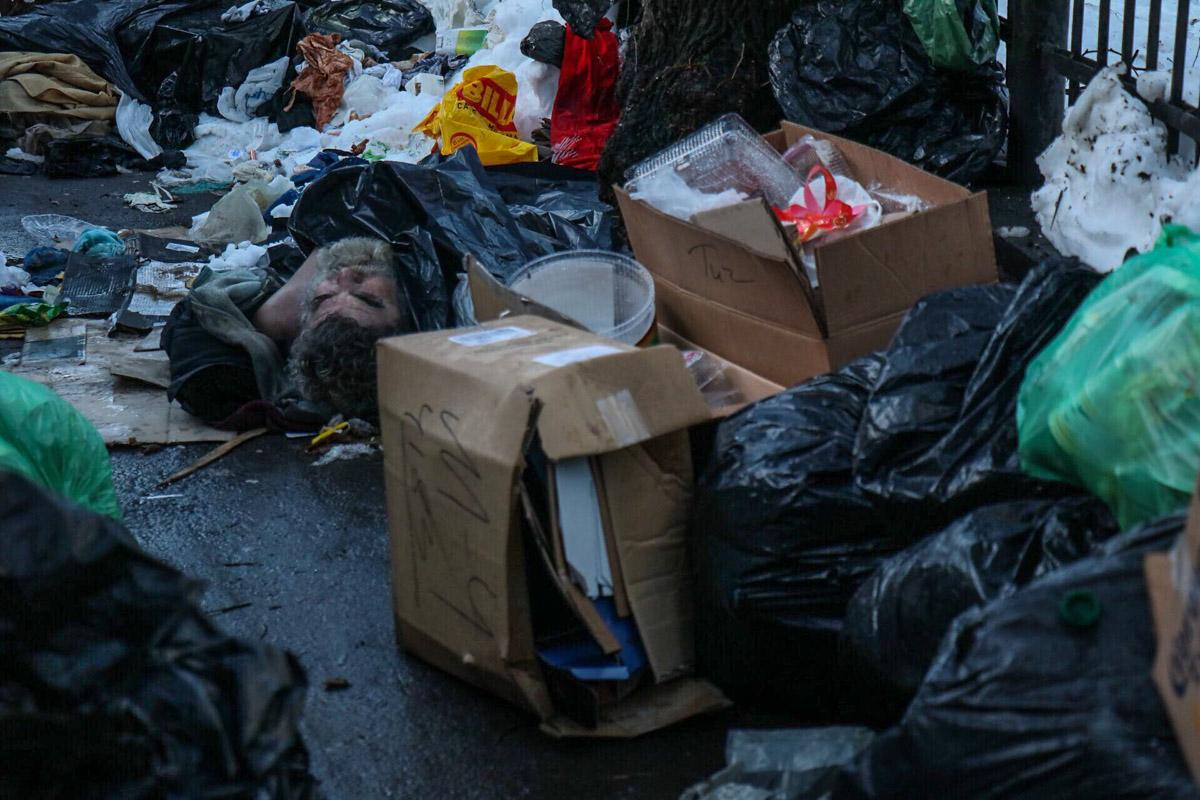 Скорее всего умерший был бездомным