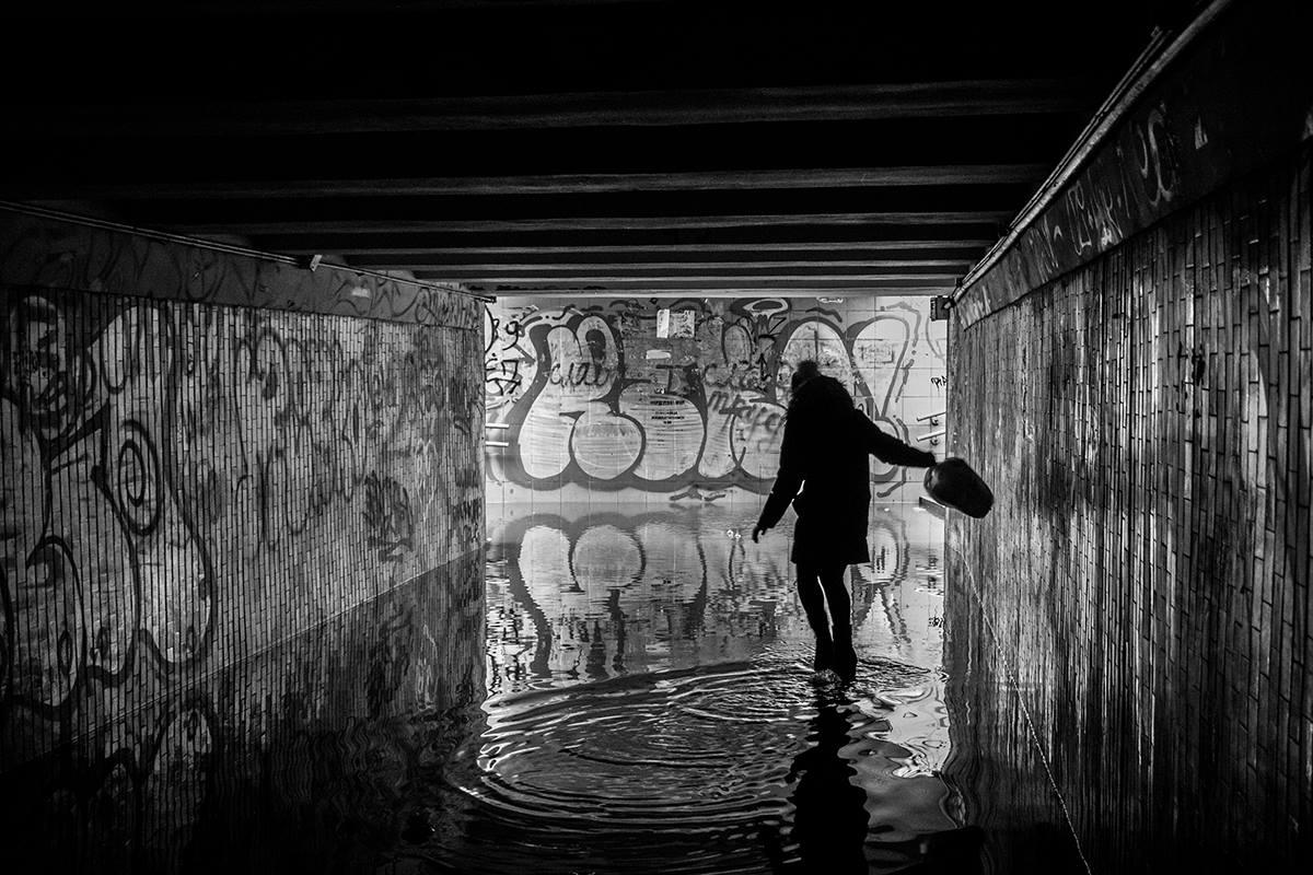 Подземный переход - атмосферное место