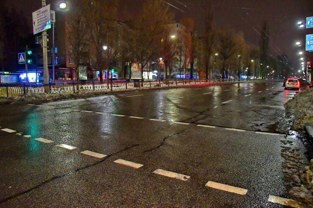 """Пешеход переходил дорогу по """"зебре"""""""