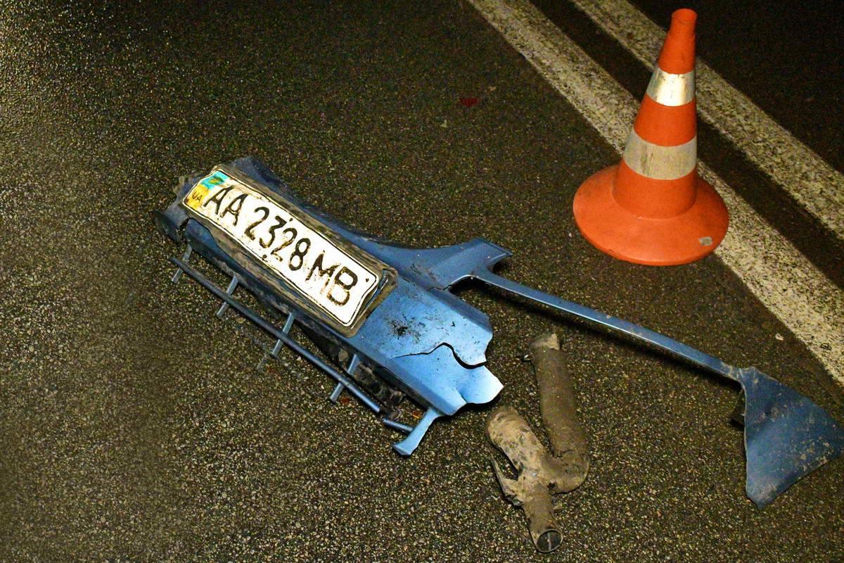 Chevrolet потерял запчасти своего авто