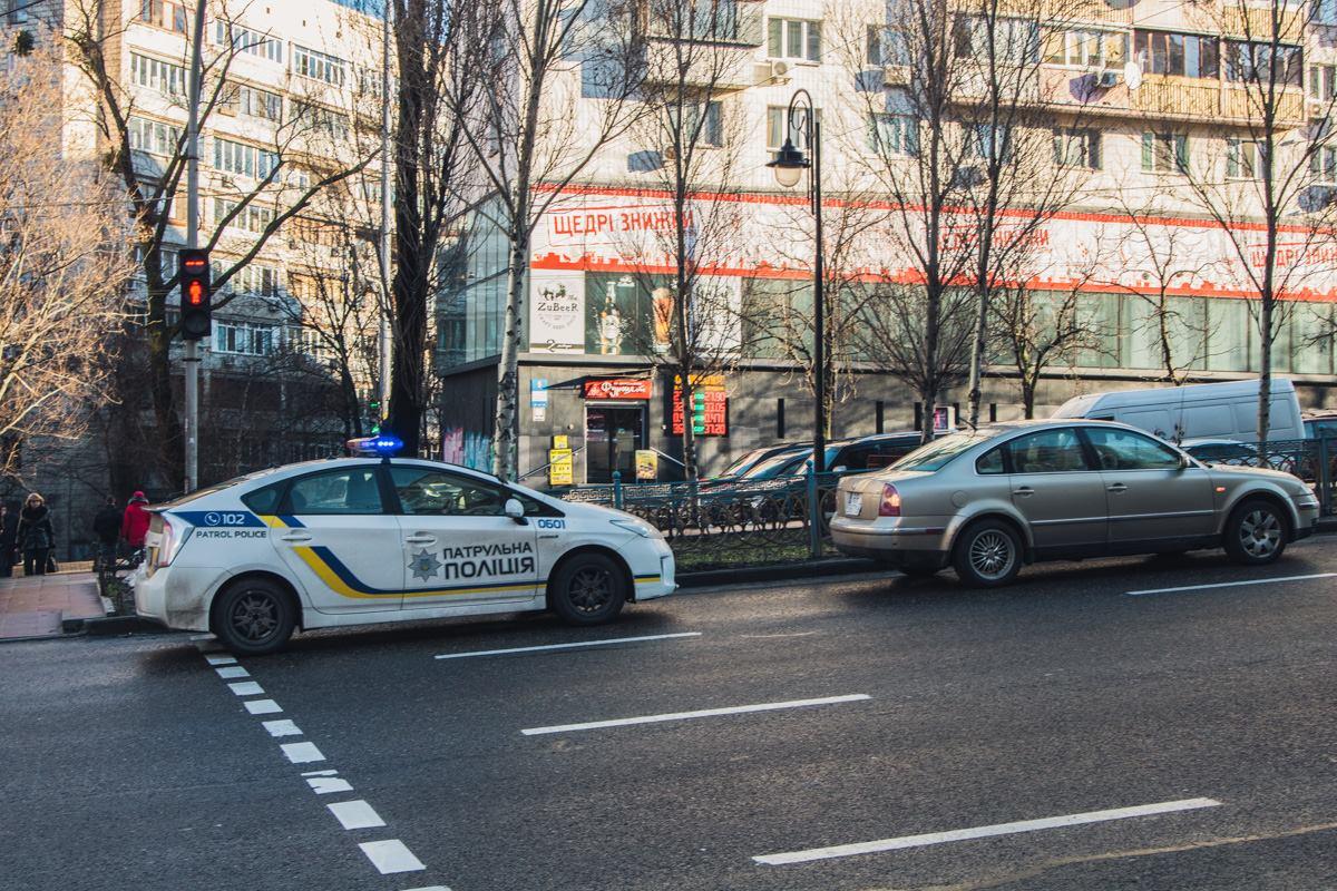 ДТП произошло на бульваре Леси Украинки