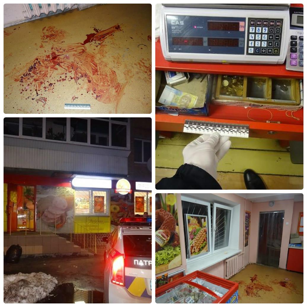 27 декабря грабитель напал на продавца магазина с ножом
