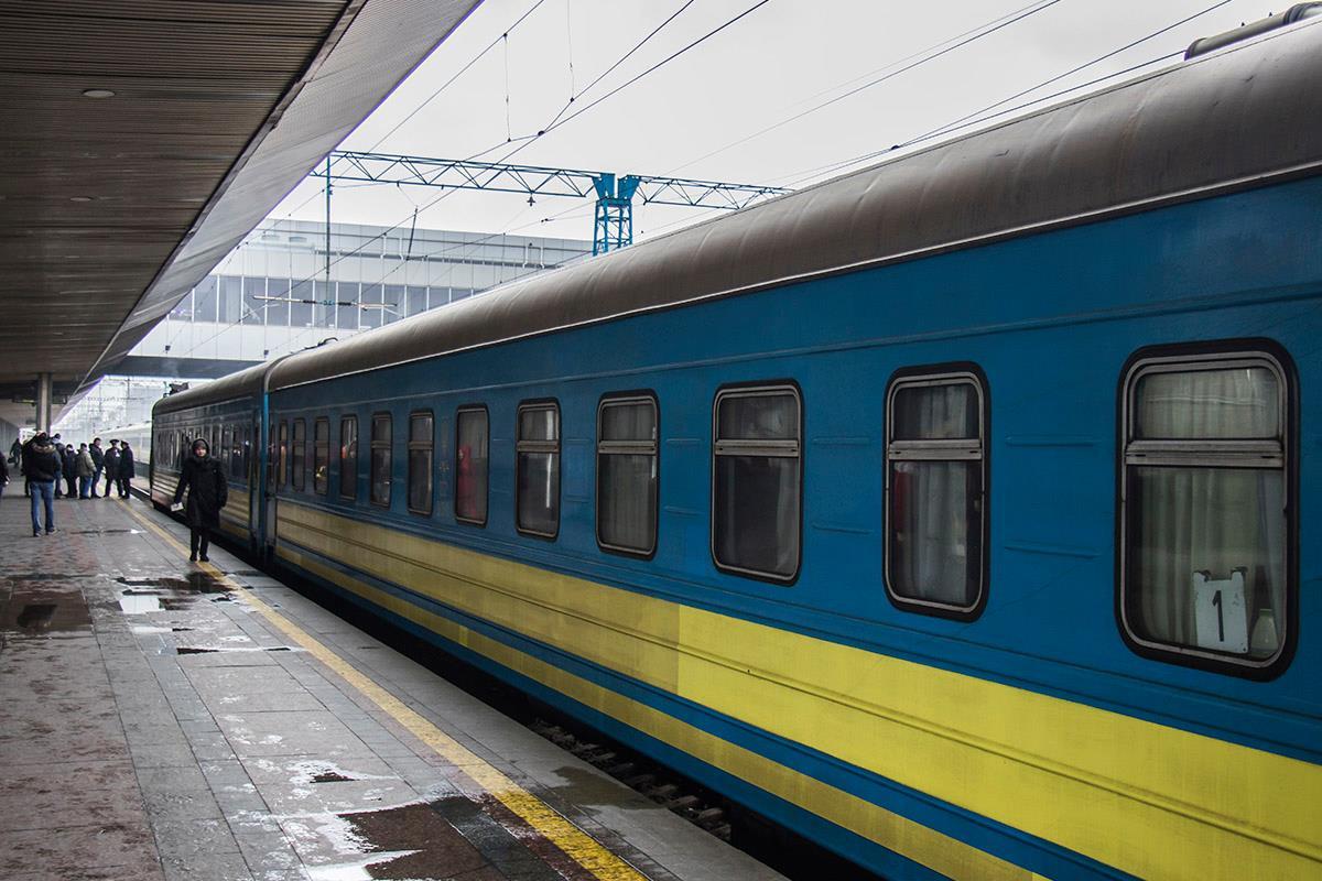Так выглядит поезд снаружи