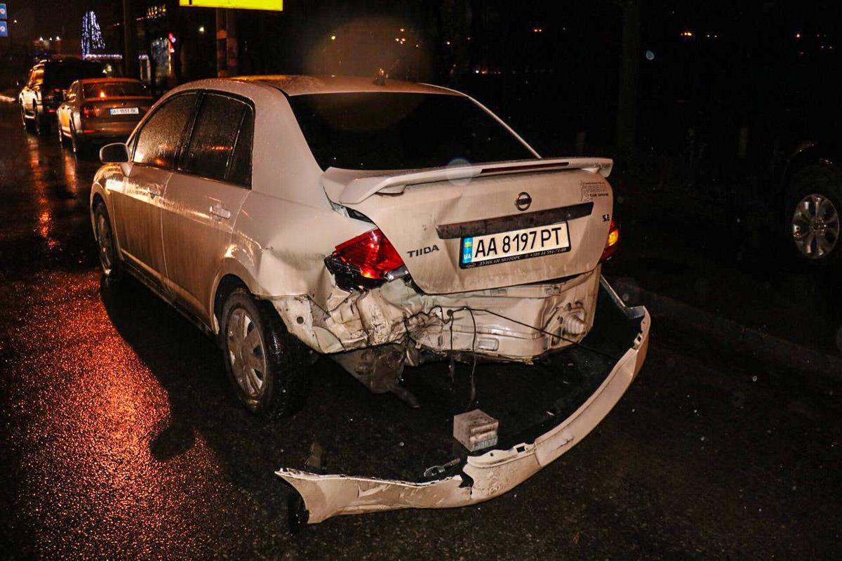 К счастью, никто в аварии не пострадал