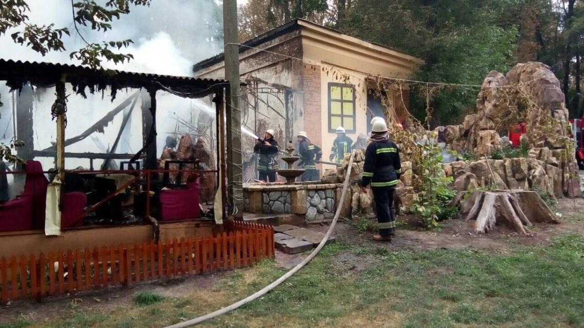 21 августа вресторане «Шам» вПушкинском парке случился пожар