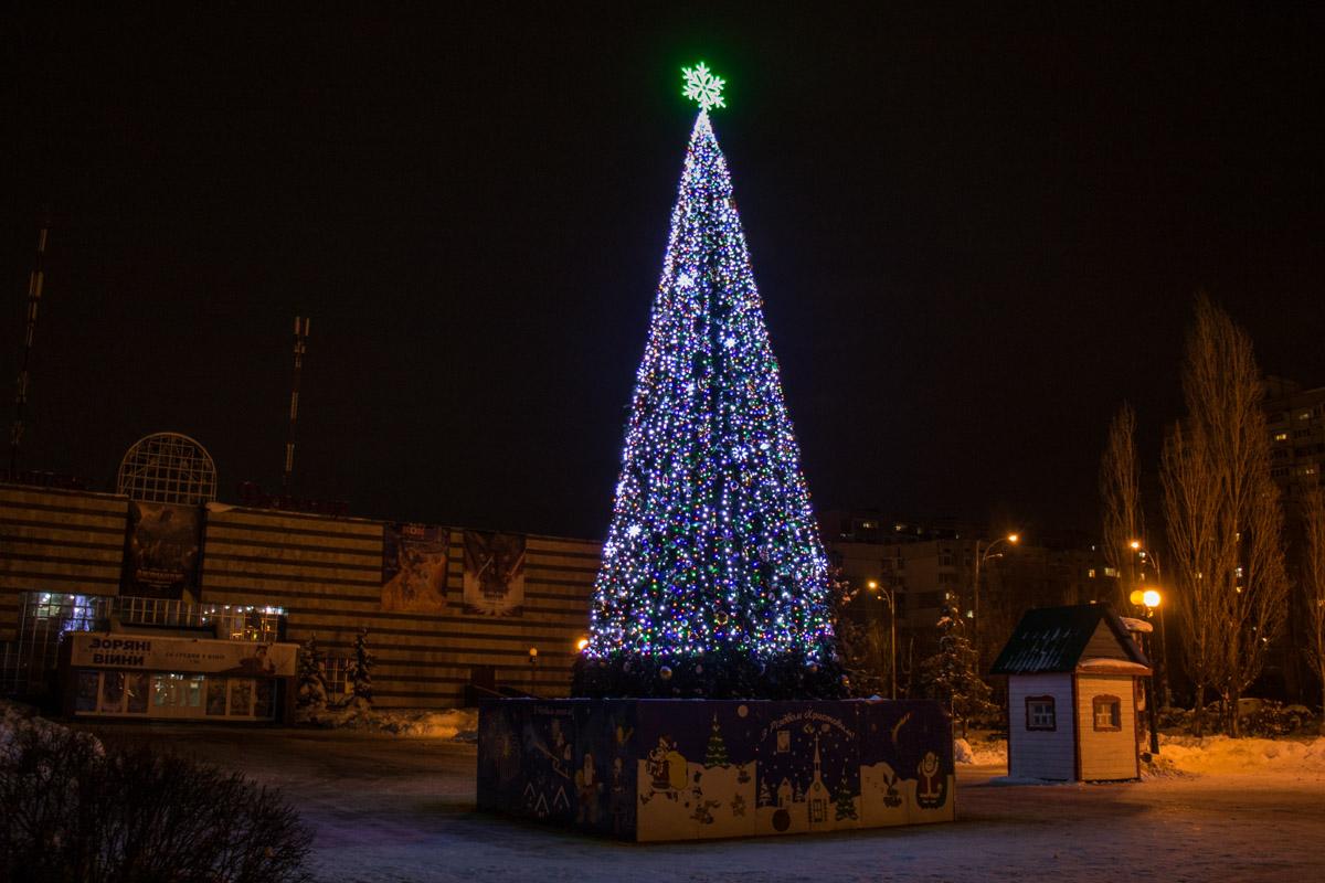 Новогодний символ Деснянского района