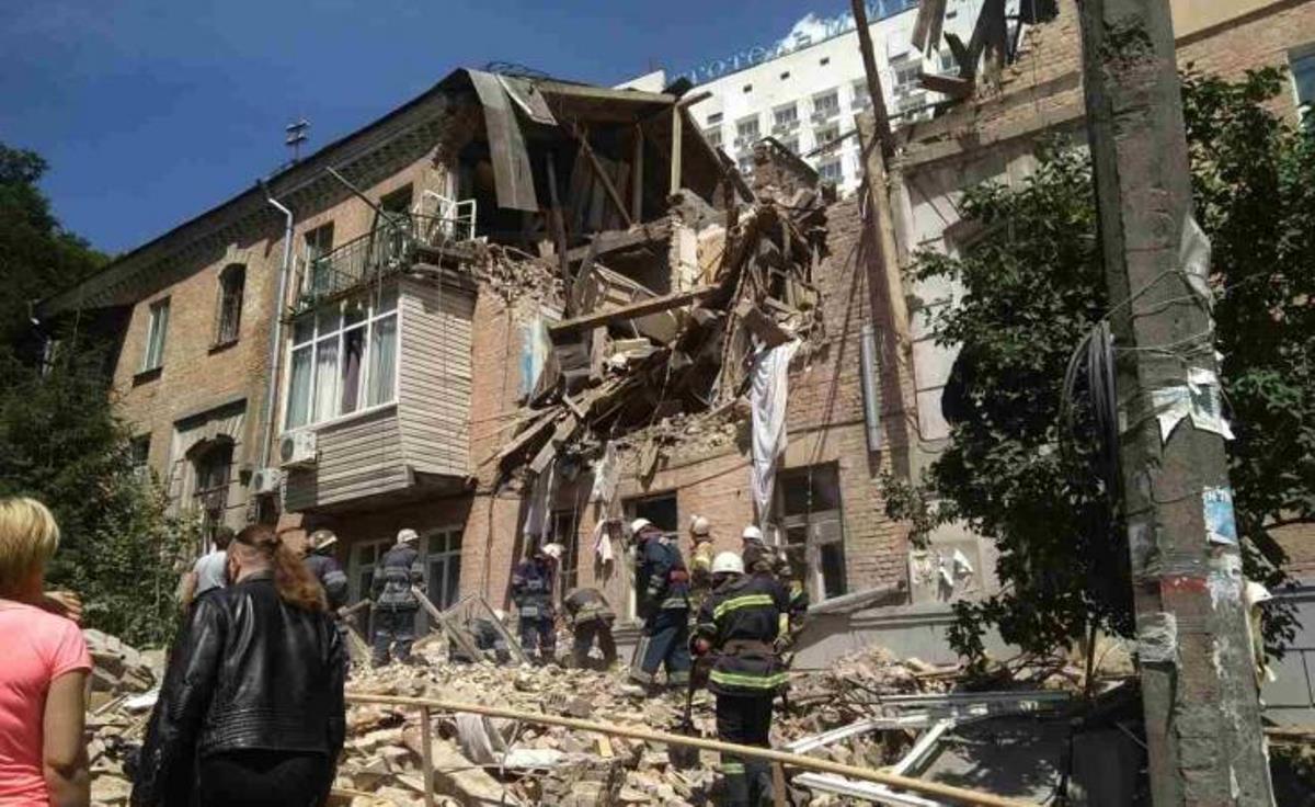 В результате взрыва погибла женщина