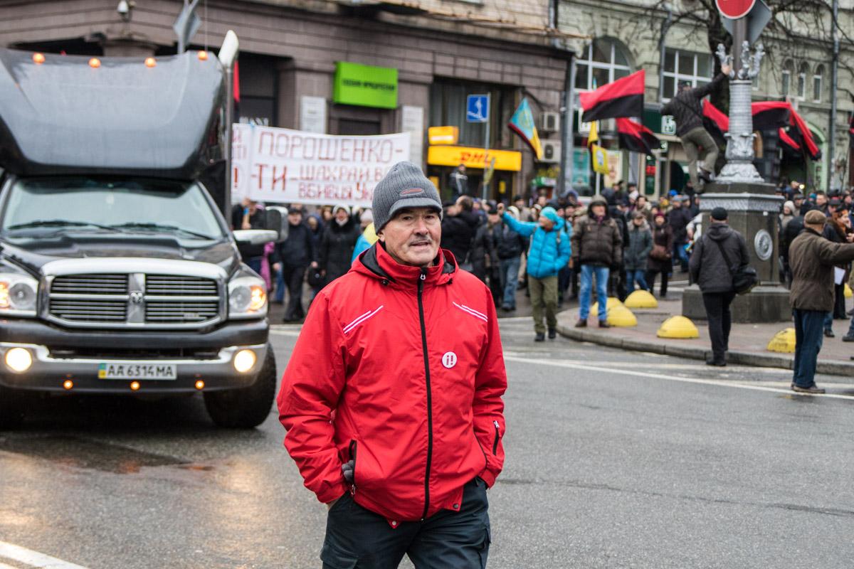 На митинге почти не было молодежи, в основном люди среднего возраста и пенсионеры
