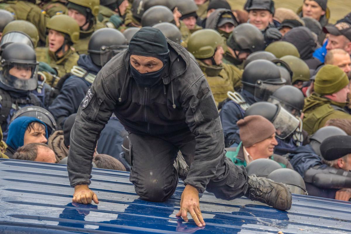 За несколько минут до освобождения Саакашвили
