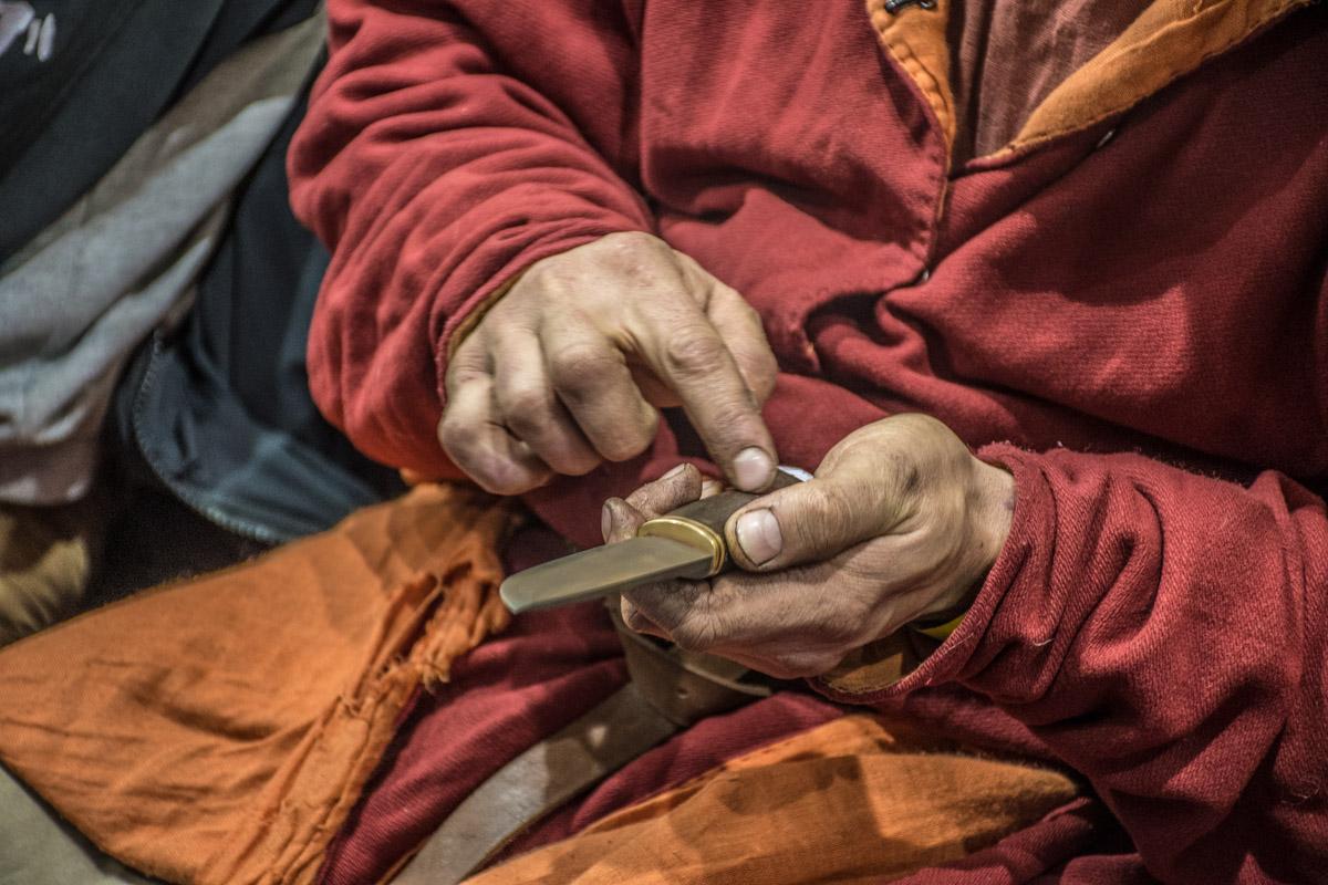 Мастера говорят, что у каждого ножа есть свой характер и душа