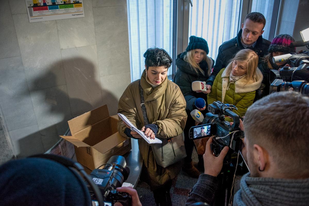 Тамила Ташева прокомментировала содержание папки для президента РФ