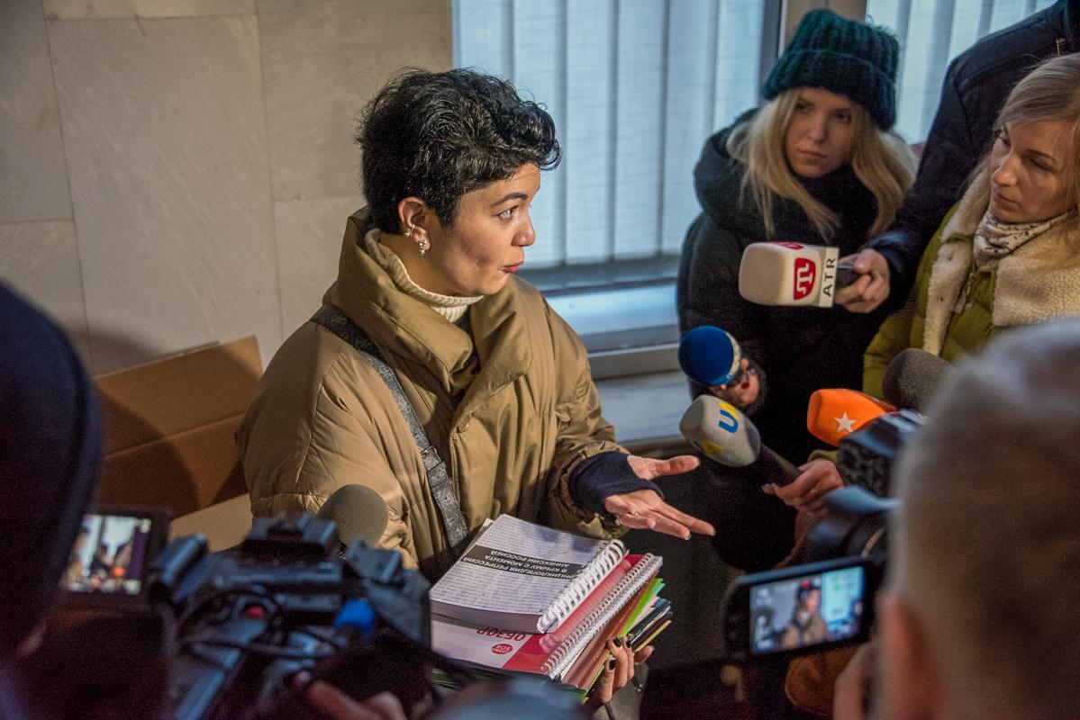 Посылку с документами активисты отправили на рабочий адрес Владимира Путина на Главпочтамте в Киеве