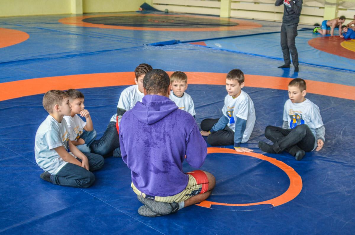 Маленькие спортсмены узнали, как стать чемпионами