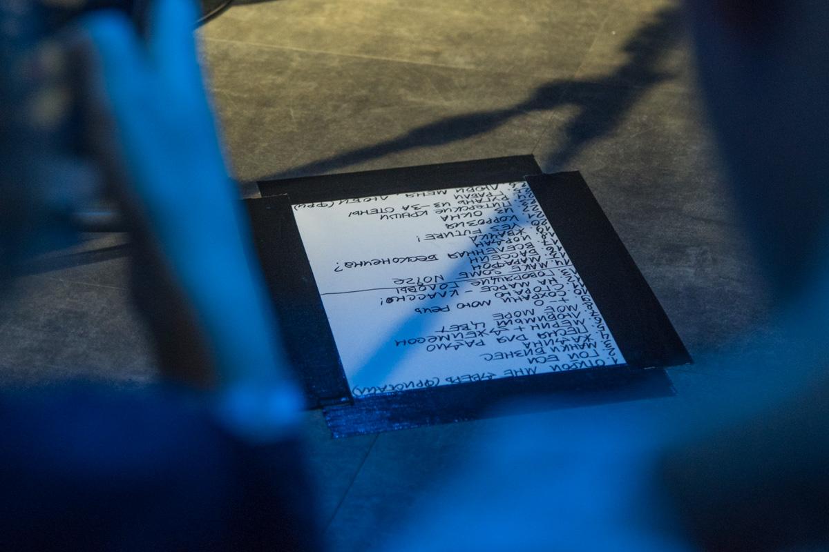 Подсказка для музыканта - список песен на этот концерт
