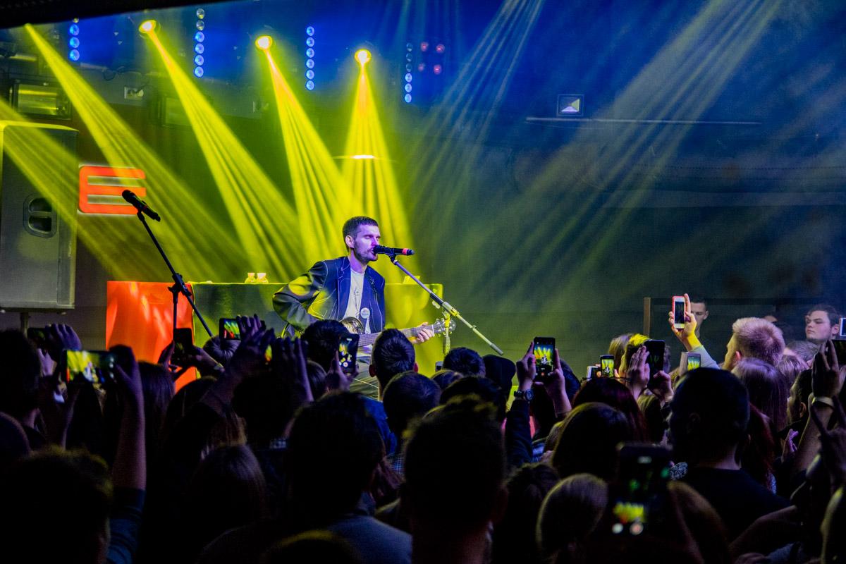 Noize MC пел и новые, и старые песни