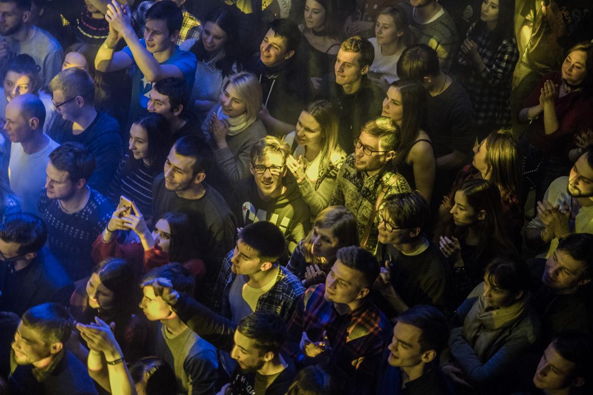 """Концерт Noize MC в ночном клубе Forsage прошел на """"ура"""""""