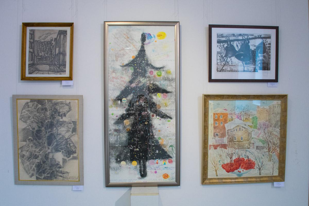 Декоративное рождественское деревце