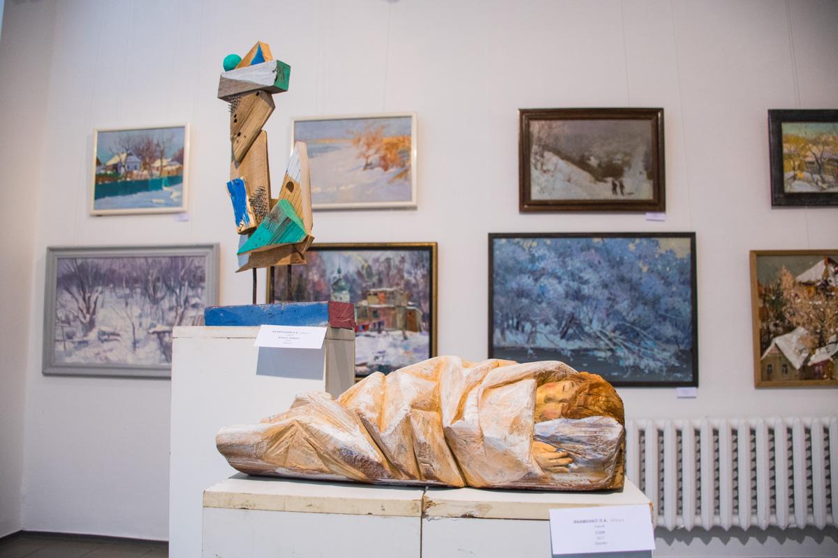 Реализм и скульптурная абстракция
