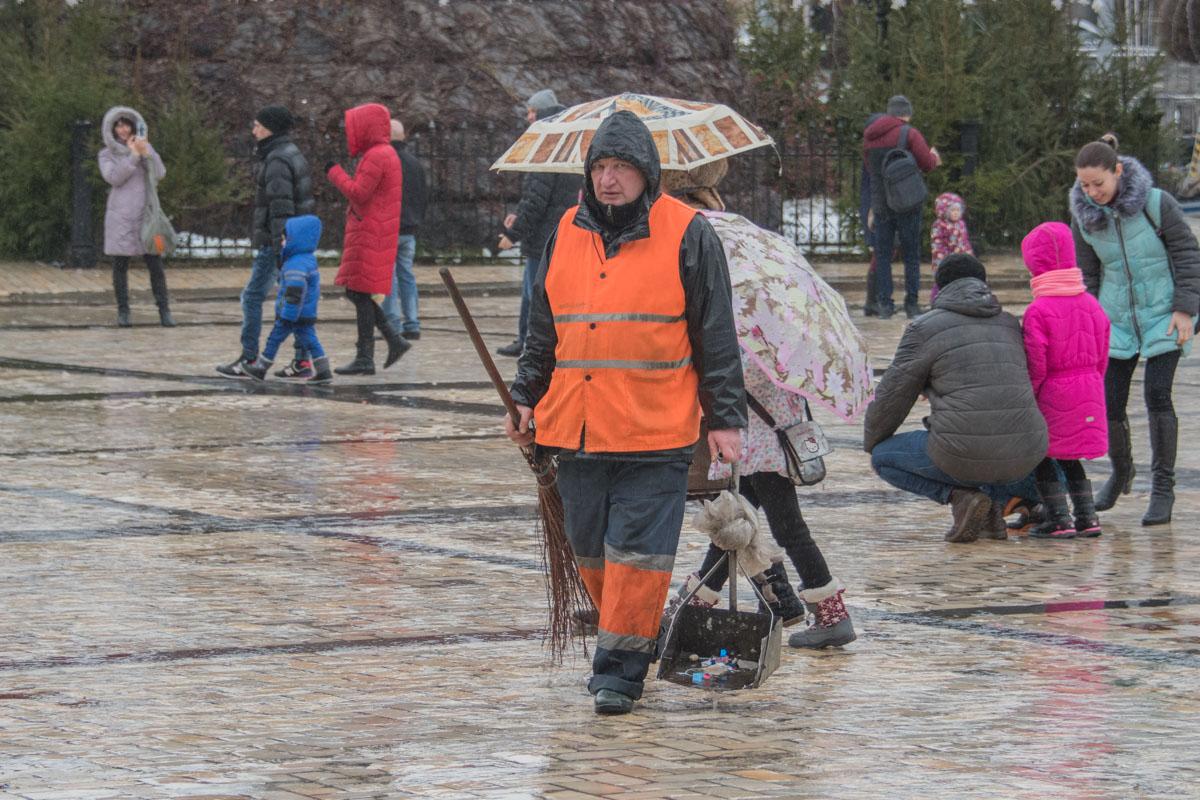 Чистота на улице должна быть всегда