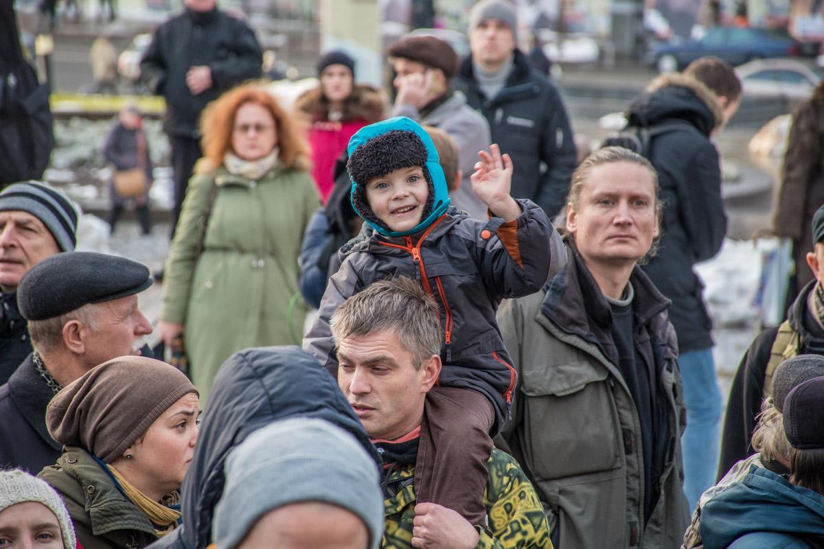 Потребовать справедливого наказания для убийцы журналиста Веремия пришли более 300 человек