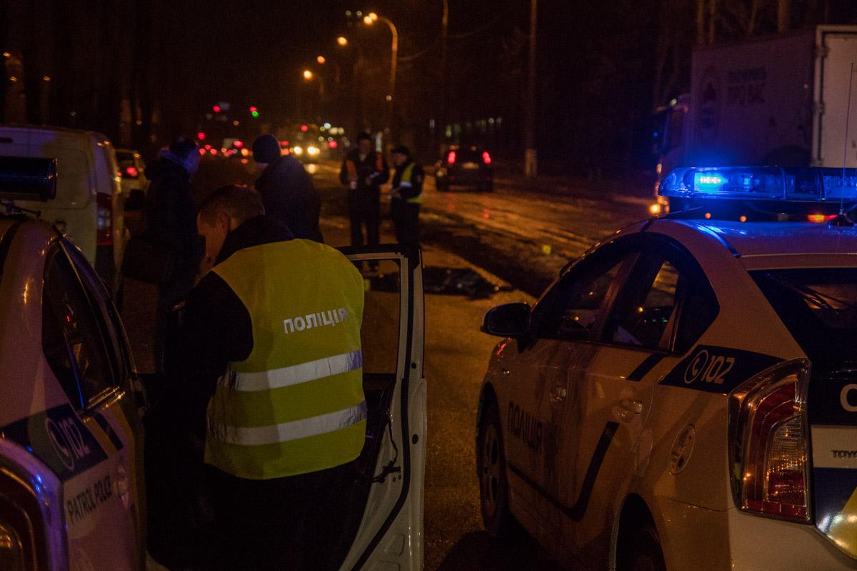Из-за аварии движение по улице Вацлава Гавела затруднено