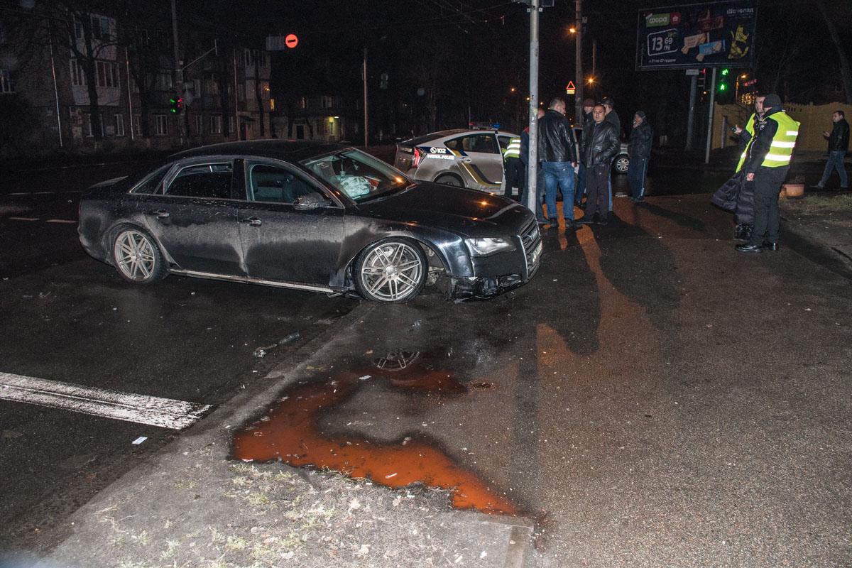ДТП произошло на пересечении улиц Щусева и Грекова