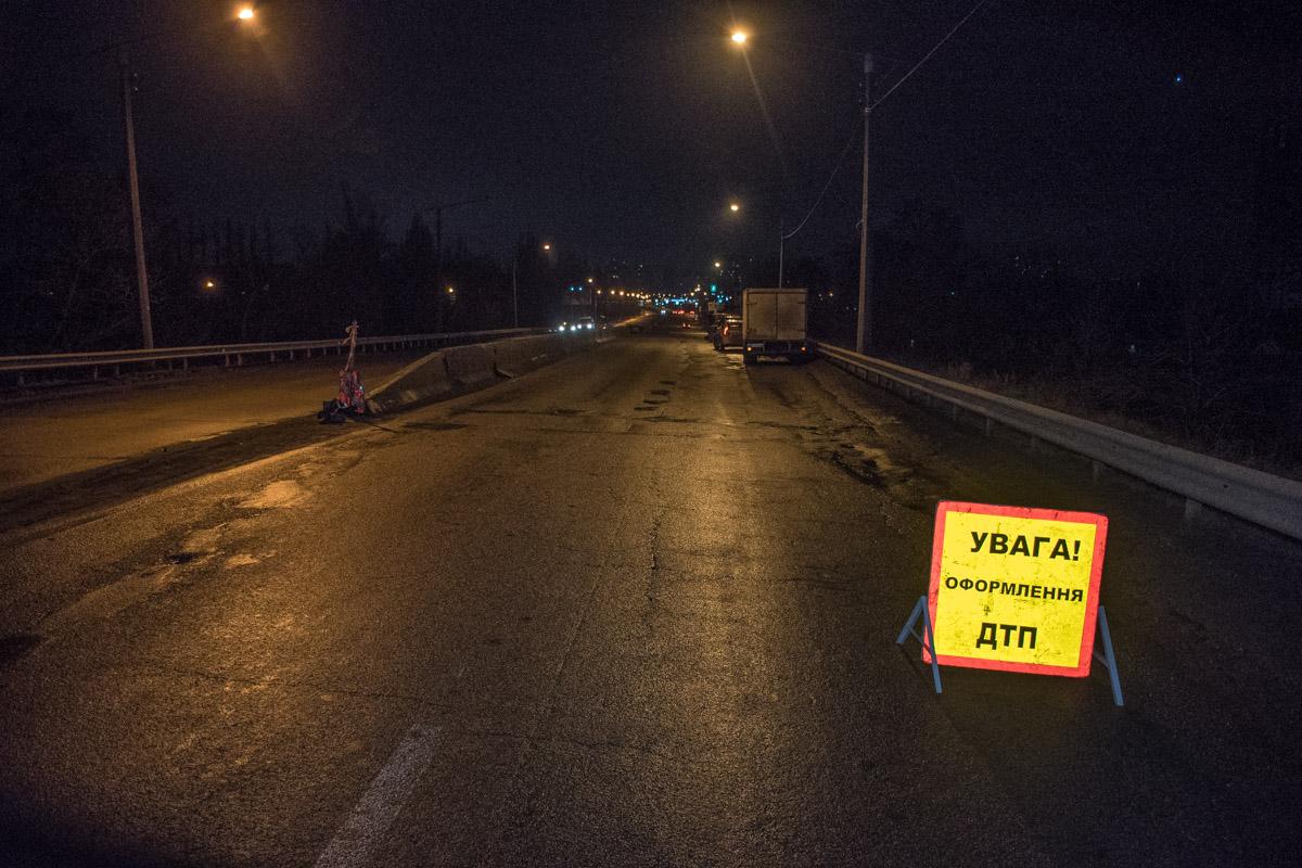 Движение по проспекту Палладина в сторону центра Киева не затруднено